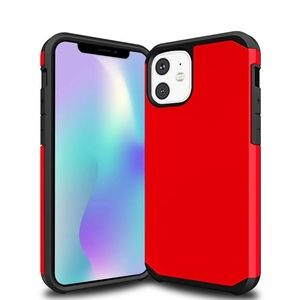 Slim Armor Hybrid case for iPhone 11 model - Red